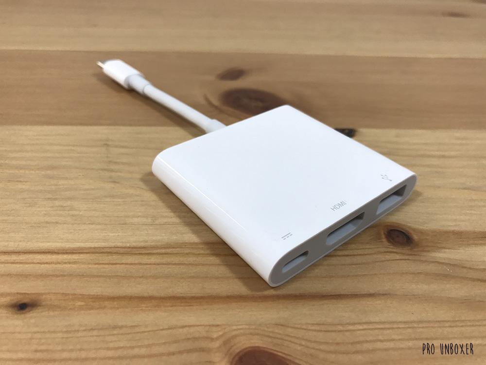 Apple USB-C Digital AV Multiport Adapter Front