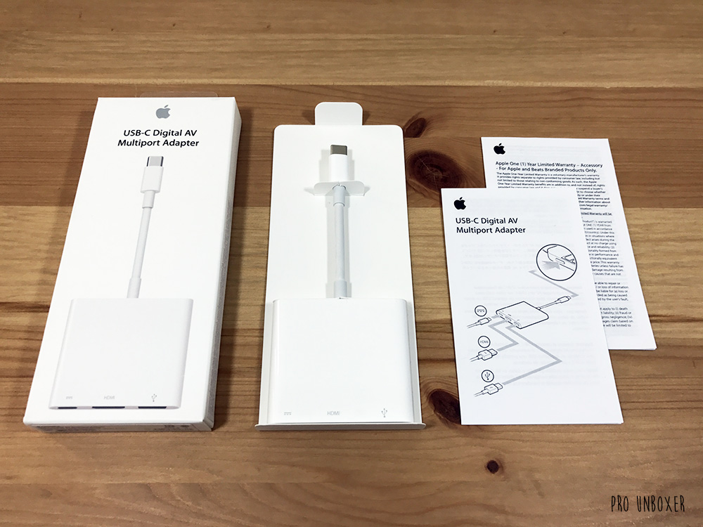 What's Inside the Box? Apple USB-C Digital AV Multiport Adapter
